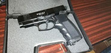 Sport i hobi - Ub: Екол Ваздушни пиштољ,нов са Co2 капсулом,челичне куглице 9mm