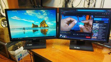 мониторы 27 28 9 в Кыргызстан: Продаю LCD монитор Acer V193W 2шт