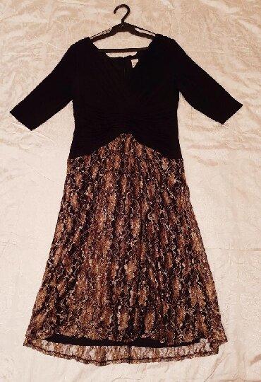 кружевное платье большого размера в Кыргызстан: Вечернее платье, размер 46, низ кружевной, очень нежная ткань, привезл