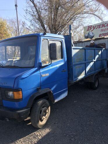 Мерседес сапог - Кыргызстан: Услуги грузового такси Мерседес (гигант, двухскатный сапог) г. Токмок