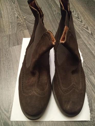 винтажные мужские ботинки в Азербайджан: Мужские кожаные ботинки,40 размер,новые