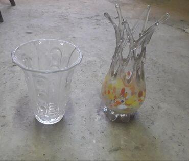 Антикварные вазы - Кыргызстан: Продаю Хрустальные Советские вазы,целые,не разбитые,недорого,цена 400