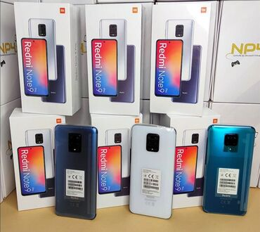Yeni Xiaomi Note 9 Pro qara