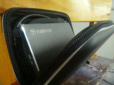 Внешний Жесткий Диск HDD Transcend 2 ТБНовый,с чехлом в комплекте Так