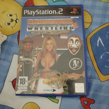 Backyard Wrestling: There goes the neighborhood for PlayStation 2