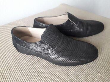 Sivo odelo - Srbija: Cipele od prave koze, marka Florida. Br 37