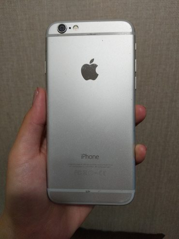 Iphone 6 128gb silver в Бишкек