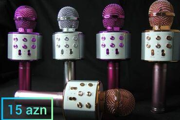 Mikrofon,karaoke,ses yazan,ses göclendirici
