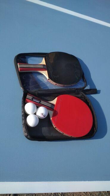 Спорт и хобби - Боконбаево: Продам новый теннисный стол международный стандарт