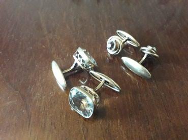 Продаю серебряные запонки. 2 пары. в Токмак