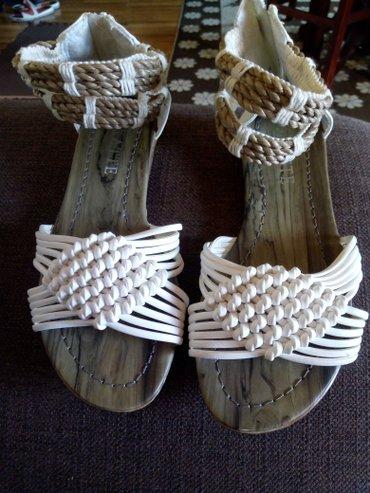 Sandale nove, 37....500 din - Pancevo