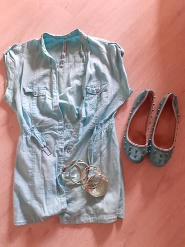 Ženska obuća   Vrbas: Baletanke,kosulha,narukvice.Sve za 800.Narukvice su nove a baletanke i