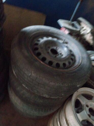 шины 195 65 r15 зима в Кыргызстан: Простой диск R15 резинасы менен 4 шт 6500 сом 195.65.15