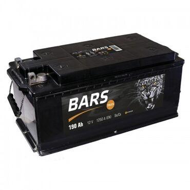 Барс 190Ah Аккумуляторы для грузовых Аккумулятор Барс крепление под