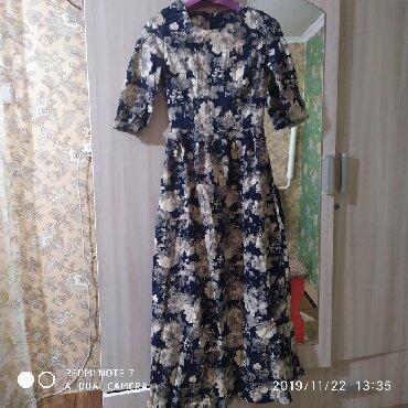 теплое платье батал в Кыргызстан: Очень теплое платье, 46размер
