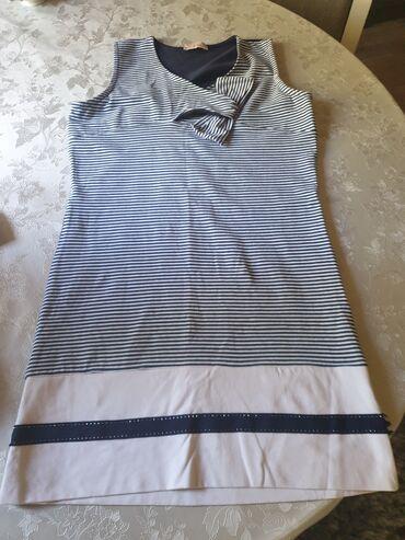 Haljina vel 12 nosena jednom pamucna