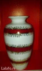 Vaza od porcelana. Visina vaze je 23 cm - Novi Sad