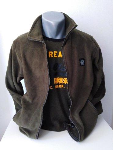 Ston Island duks jaknica velicina od S do 3XL maslinasta i crna boja