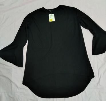 Женская туника (кофта) XL наш (48-50) черного цвета, производство