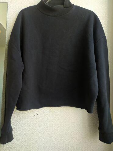 Толстовка Ткань: футер Размер:L Состояние:9/10 Цвет: черный