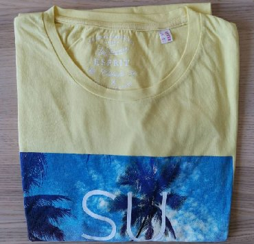 Kozni-kajis-sa-bodljama-duzine-cm - Srbija: ESPRIT žuta majica sa printom, veličina XXL - NOVOESPRIT žuta majica
