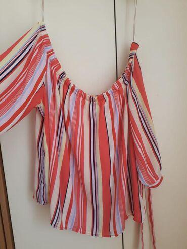 Košulje i bluze | Kovacica: New Yorker kosuljica na pruge sa spustenim ramenima. NOVA!!!!!