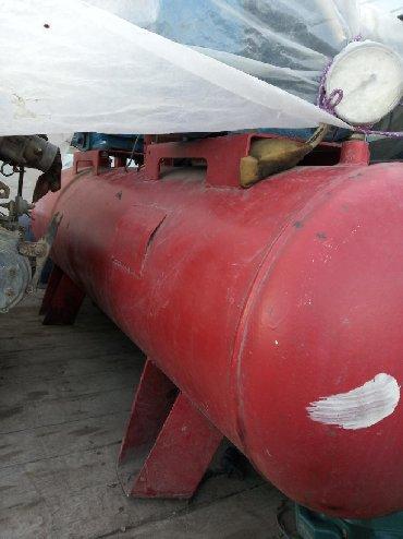 kampressor - Azərbaycan: Kampressor üstündə 40 metr şlank hava tapançası böyük maşın üçün