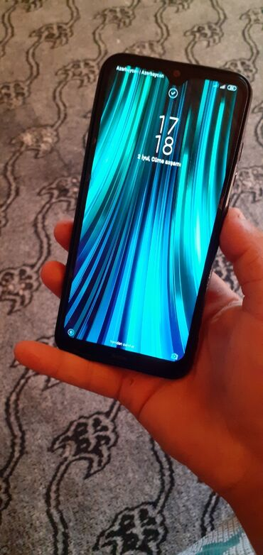 Электроника в Газах: Б/у Xiaomi Redmi Note 8 64 ГБ Синий
