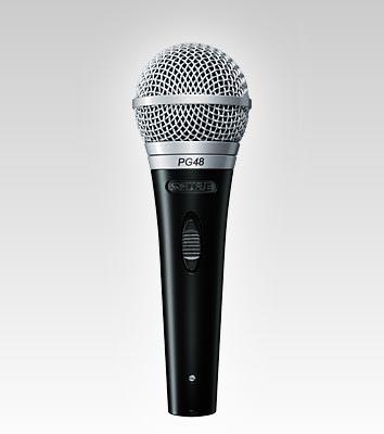 Bakı şəhərində Shure SM48S -Mikrofon