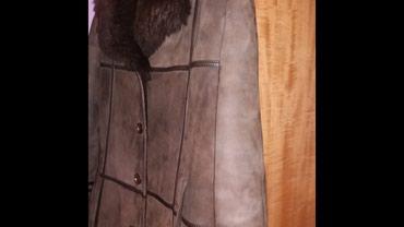 Krzneni kaputi - Bela Crkva: Kozna bunda br 48doneta iz beca, prelepa prava kozana bunda veoma