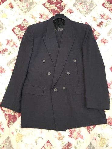 Мужской костюм (двойка) Пиджак и брюки Размер 175/103 (L) 78/120 Цвет  в Бишкек