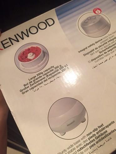 Kenwood dograyan (blender)her bir mehsulu dograyir