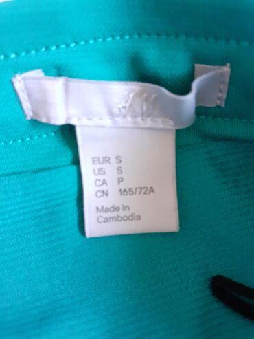 Suknja - maslinasto zelena - svetlo zelena, kao nova