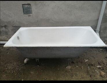 вытяжка для ванны в Азербайджан: Vanna çuqun çox işlənməyib uzun-1.50 Eni-70 hund-60 sm