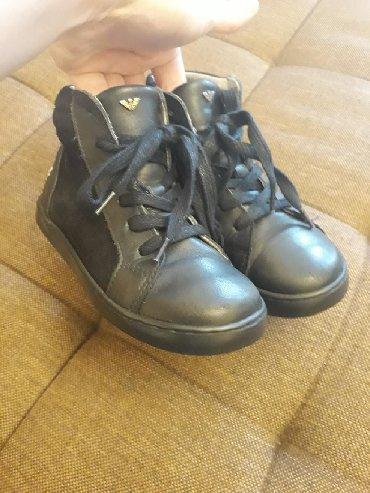 детская одежда из италии в Азербайджан: Оригинал!!!! Обувь из натуральной кожи фирмы Armani. Размер 29