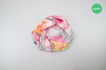 Личные вещи - Украина: Жіноча хустка з принтом    Розмір: 130 х 130 см  Матеріал: 45% шовк, 5