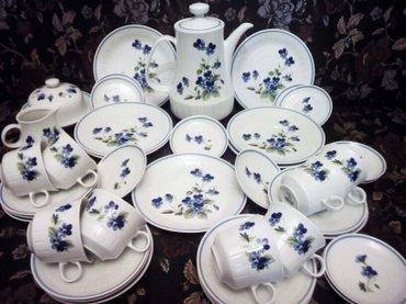 Чайный сервиз, гдр 42 предмета( не полный) в Bakı