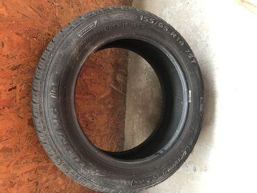 2 letnje gume 155/65 R14, kupljene prošle godine, korišćene 4 meseca
