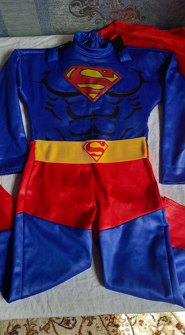 Детский мир - Лебединовка: Костюм супер мен одевал один раз