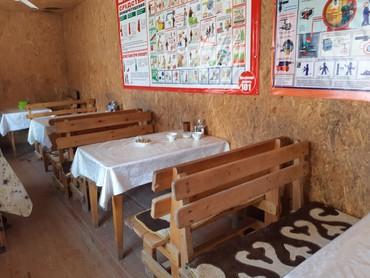 шкаф для посуды в Кыргызстан: Контейнер 40т.переделанный под столовую.утепленный.Внутри 2