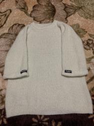 Беретка вязанная - Кыргызстан: Кофта туника, в идеальном состоянии, одевали 1 раз на фотоссесию