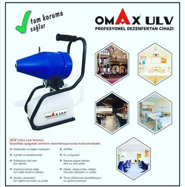 omax 200 - Azərbaycan: Dizinfeksiya aparatı OMAX ULV