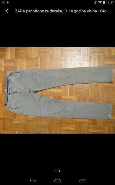 Muška odeća | Obrenovac: ZARA pantalone za decaka visina godina kao nove