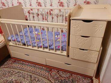 кровать трансформер детская купить в Кыргызстан: Продаю кровать - трансформер Жираф.Состояние отличное. Продаю с связи
