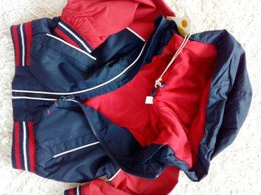 Novo, sa etiketom. Postavljena jakna- šuskavac, za bebe, italijanske - Beograd