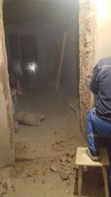 Слом бетон штукатурка стен обдирка в Бишкек
