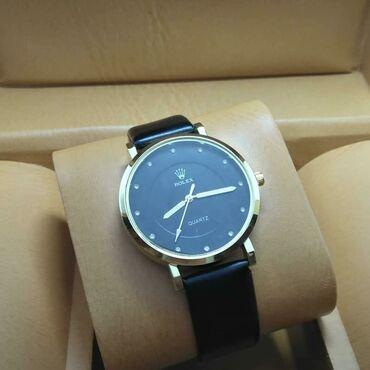 Qara Qadın Qol saatları Rolex