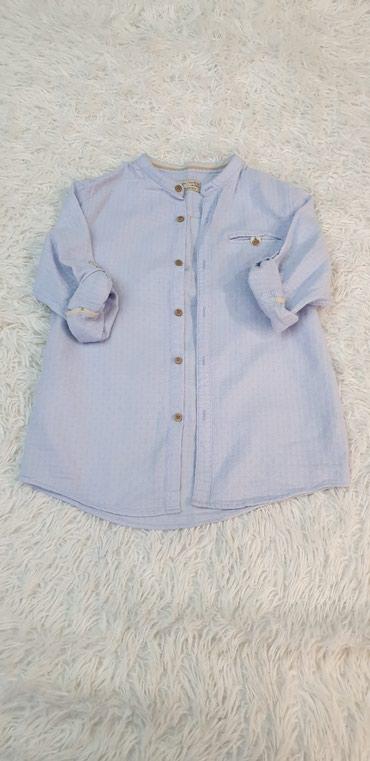 Рубашка для мальчика,размер 140,фирма Zara boys,состояние в идеале. в Бишкек