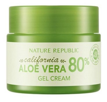 Bakı şəhərində Гель-крем для лица Nature Republic California Aloe Vera 80% Gel Cream