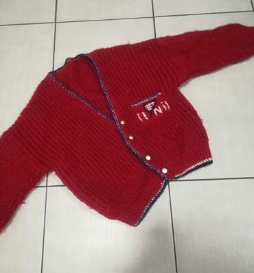 Prelep džemper za devojčice vel 6-7 godina Povoljno